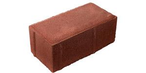Плитка 1П8 - Красный