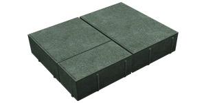 Плитка  Ландхаус - Зеленый