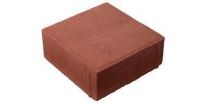 Плитка Квадрат - Красный